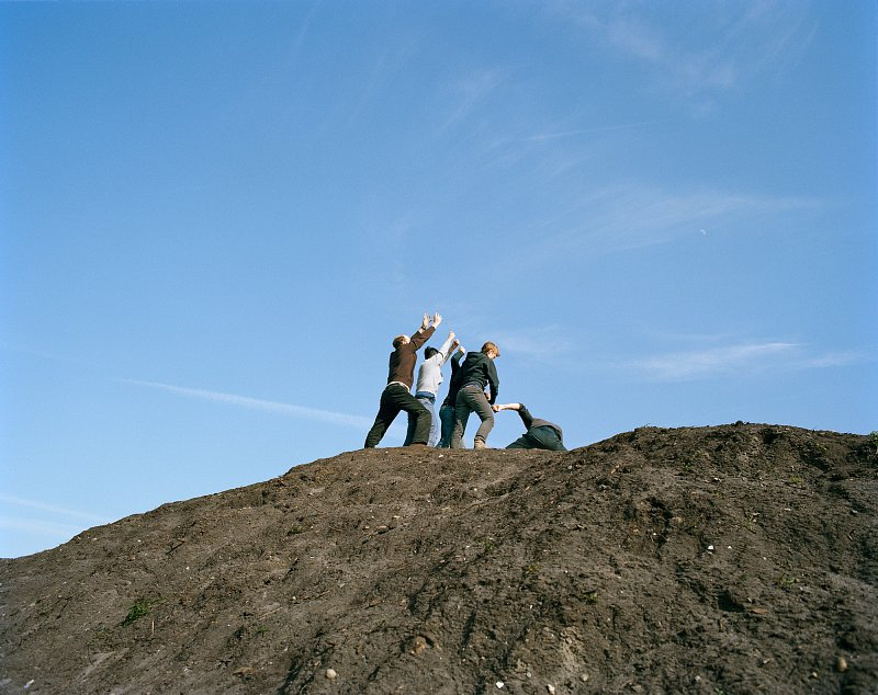 Raising the Flag on Top of Mount Suribaji, Iwo Jima (nach Joe Rosenthal), 2009